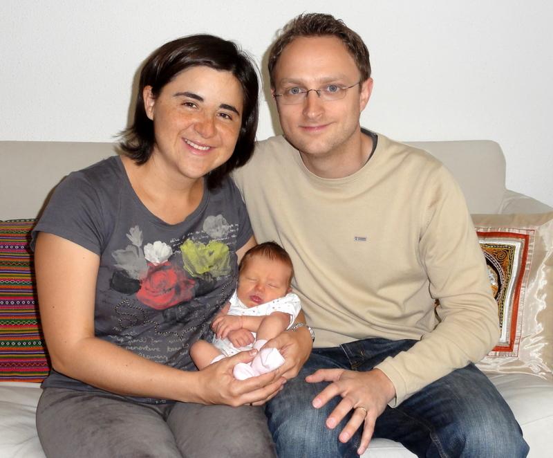 Laura Maria, Claudia und Mathias