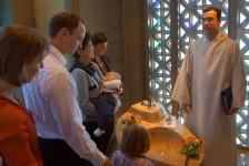 Taufe von Lucas David Nöthiger in Herrliberg