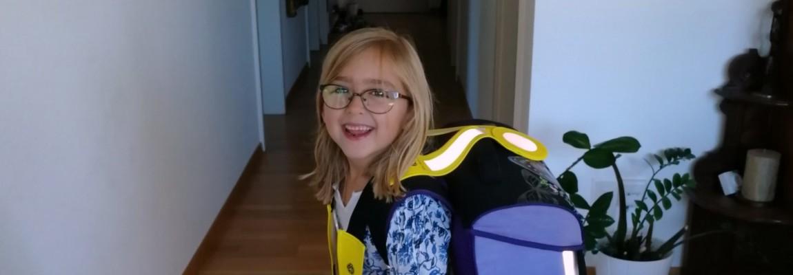 Laura Marias erster Schultag